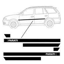 Friso Lateral Vw Parati Personalizado - Bola G3/g4 2 Portas