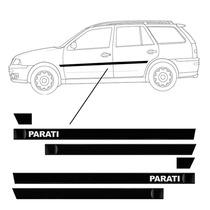 Friso Lateral Vw Parati Personalizado - Bola G3/g4 4 Portas