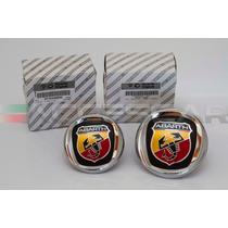 Kit Emblemas Abarth P/ Fiat Punto 07>12 ( Frete Grátis )