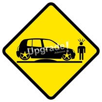 Adesivo Carro Rebaixado Enroscado Frete Grátis Clio Socado