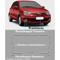 Kit Protetor De Parachoque Toyota Etios Hatch