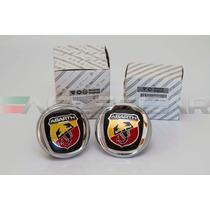 Kit Emblemas Abarth P/ Fiat Bravo ( Frete Grátis )