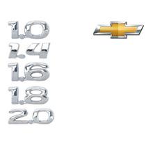 Emblemas 1.0 1.4 1.6 1.8 2.0 Mod Original Linha Gm Chevrolet