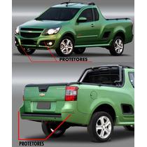 Kit Protetor De Parachoque Chevrolet Nova Montana G2