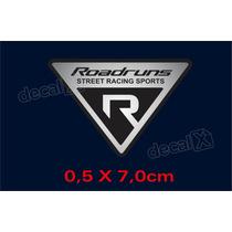 Adesivo I30 Roadruns Triangulo Resinado Res62 - Decalx