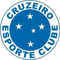 Adesivo Cruzeiro Esporte Clube Escudo 10cm - Frete Grátis