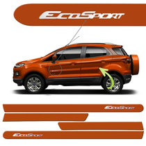 Friso Lateral Ford Nova Ecosport 2013 A 2016 Laranja Savana.