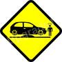 Adesivo Carro Rebaixado Enroscado Lombada Corsa Hatch Fixa