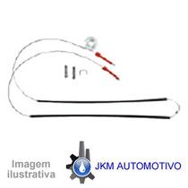 _kit Reparo P/ Maquina Vidro Eletrico Vw Santana /98 Tras
