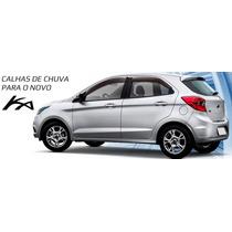 Calha De Chuva Novo Ford Ka Hatch