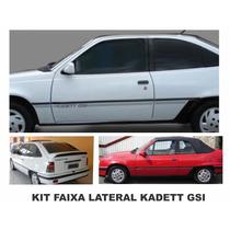 Faixas Kadett Gsi Kit 9 Pçs - Otima Qualidade