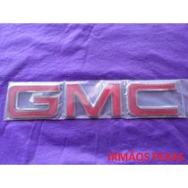 Emblema Gmc Grade Radiador Silverado Modelo Original