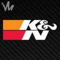 Adesivo K&n K N Filtro Esportivo Euro Jdm Moto Carro Kn