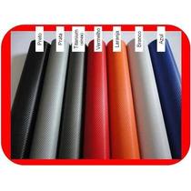 Adesivo Para Envelopamento - Fibra De Carbono - Black Piano
