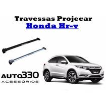 Rack De Teto Travessas Projecar Para O Honda Hr-v Hrv