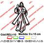 Adesivo Religioso Jesus Cristo Católico Cristão Reli-10