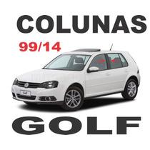 Colunas Blackout Golf Mk4 Mk4,5 Frete Gratis