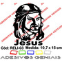 Adesivo Religioso Cristão Católico Face Jesus Cristo Reli-03