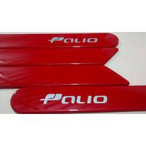 Friso Lateral Novo Fiat Palio Vermelho Alpino Original