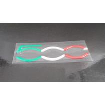 Emblema 500 Resinado P/ Coluna Fiat 500 2010/... - Mmf