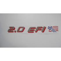 Adesivo 2.0 Efi C/ Bandeira Copa Usa P/ Monza Club