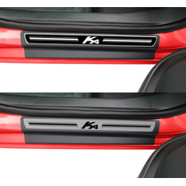 Soleira Premium Novo Ka 2015 Kit 8 Pçs - 1 Ano Garantia