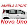 Kit Janela Sporting Novo Uno + Colunas Pretas + Frete Gratis