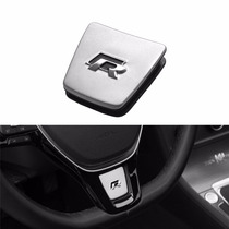Emblema Aplique R-line R Vw Golf Mk7 Volante