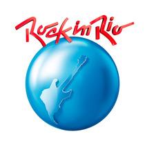 Emblema Adesivo Resinado Fox Gol Polo Voyage Rock In Rio