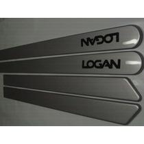 Friso Para Proteção Lateral Renault Logan Prata Etoile