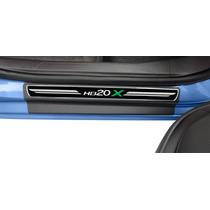 Soleiras Premium Hyundai Hb20x - Com Frete Grátis