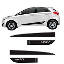 Jogo Friso Personalizado Borrachão Hyundai Hb20