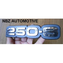 Emblema 250-s Cromado Antigo Gm - Nbz Automotive