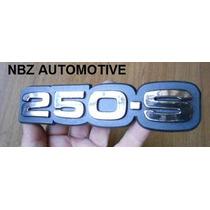 Emblema 250-s Cromado Antigo Gm - Nbz Automotive
