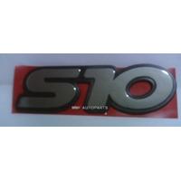 Kit Emblemas S10+deluxe+efi+faixa Chevrolet 1996/... - Mmf