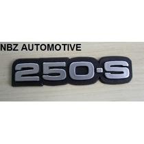Emblema 250-s Cinza Antigo Gm - Nbz Automotive