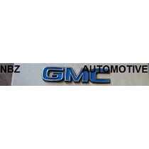 Emblema Gmc (mini) Azul - Nbz Automotive