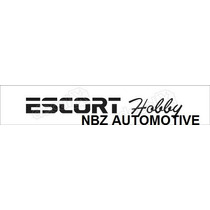Emblema Adesivo Escort Hobby Preto - Ford - Nbz Automotive
