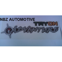 Emblema Adesivo Tryon Adventure (pequeno) - Linha Fiat - Nbz