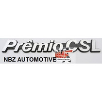Emblema Premio Csl Cinza/preto - Linha Fiat Antiga