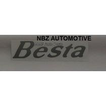 Emblema Adesivo Besta (lateral) Prata - Kia - Nbz Automotive
