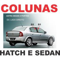 Colunas Pretas Astra 4 Portas Hatch E Sedan + Frete Gratis