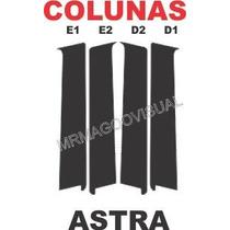 Colunas Adesivas Astra 4 Portas 2007 2008 2009 2010 2011