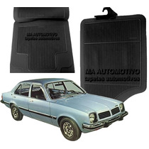 Tapetes Automotivos Borracha Gm Chevette Jg 4pçs Inodoro