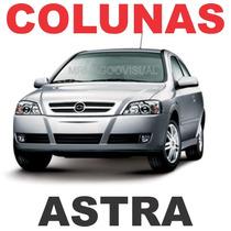 Colunas Adesivas Fibra De Carbono 3m Astra 4 Portas