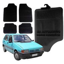 Tapete Borracha Fiat Uno_92 93 94 95 96 97 98 99 00_ - 4pçs