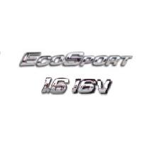 Kit Emblemas Ecosport 1.6 16v Ford Brinde Emblema Chave Cani