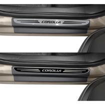 Soleira Premium Novo Corolla 2015 2016 Protetor Original