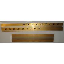 Faixa Lateral S-10 Executive Dourada - Frete Gratis