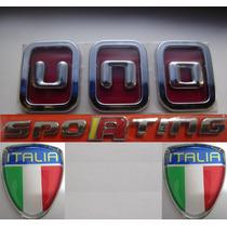 Uno Vermelho + Sporting + Argolas + Bandeiras Itália 11/.bre